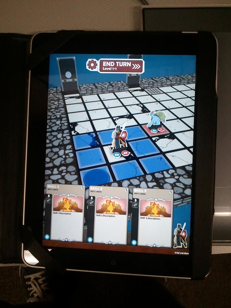 Card Dungeon on iPad