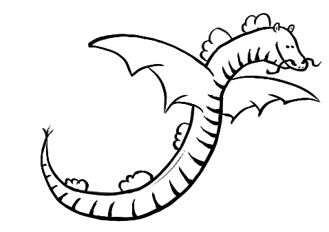Dragon for luck