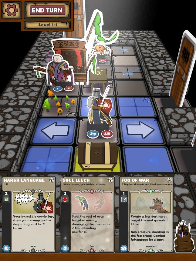 Shop in Card Dungeon