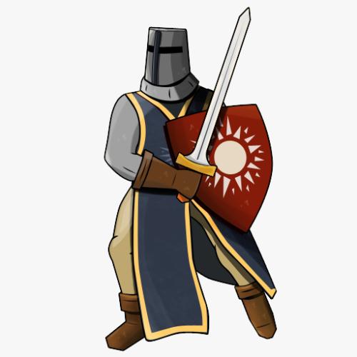 Player Character - Crusader