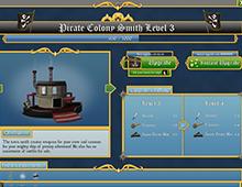 Pirate game UI