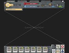 Stoneage game UI