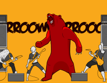 Growly Bear Metal