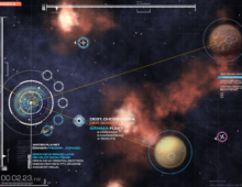 UI Design Space Game
